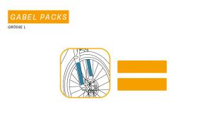"Clearprotect safety sticker fork pack ""L"" ( 2pcs)"