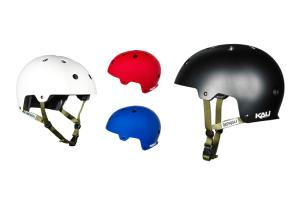 Kali Maha Solid DIRT/BMX helmet with sticker sheet