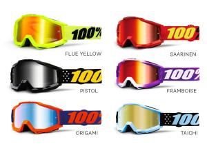 100% Accuri Youth goggle anti fog mirror lens