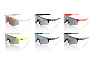 100% Speedcraft sport sunglasses (STD) smoke lens