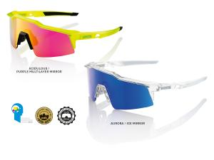 100% Speedcraft sport sunglasses (SL) mirror lens