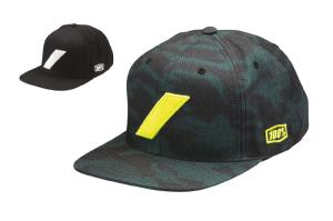 100% Slash snapback hat