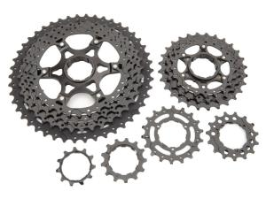 Box Components Two 11-46T MTB Cassette 11 speed, black