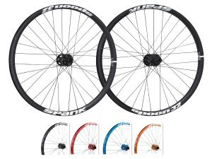 "Spank Spoon32 EVO 26"" wheelset 20mm + 12/135mm incl. adapter"