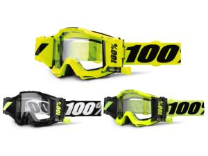 100% Accuri Forecast goggle w. 45mm Film System, clear lens