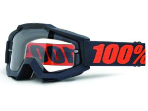 100% Accuri Enduro goggle with dual clear lens