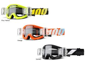 100% Strata Mud / SVS Youth goggle (inkl. SVS Roll-Off Sys.)