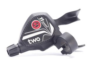 Box Two Twin Lever 11 speed shifter, black