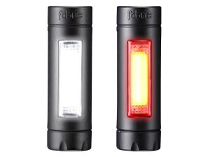 Fabric Lumasense set (front + brake light), 30 Lumen