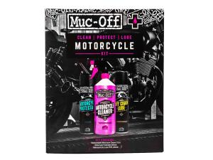 Muc Off Motorcycle Clean, Protect, Lube Kit